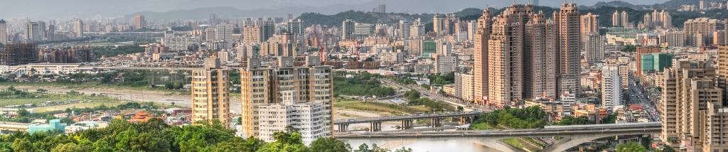 Taipei River Banner