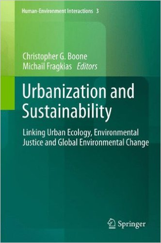 Urbanization and Sustainability COVER