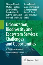 Urbanization biodiversity ecosystem services COVER